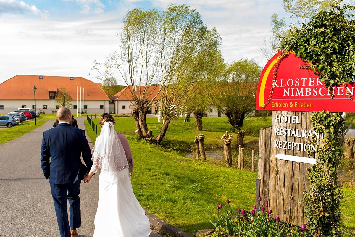 Hochzeitsfotograf Kloster Nimbschen - Das Muldetal im April